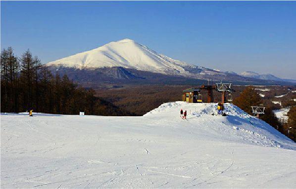 輕井澤的滑雪場